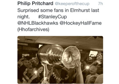 Riley's Gathering Place | Stanley Cup Tweet